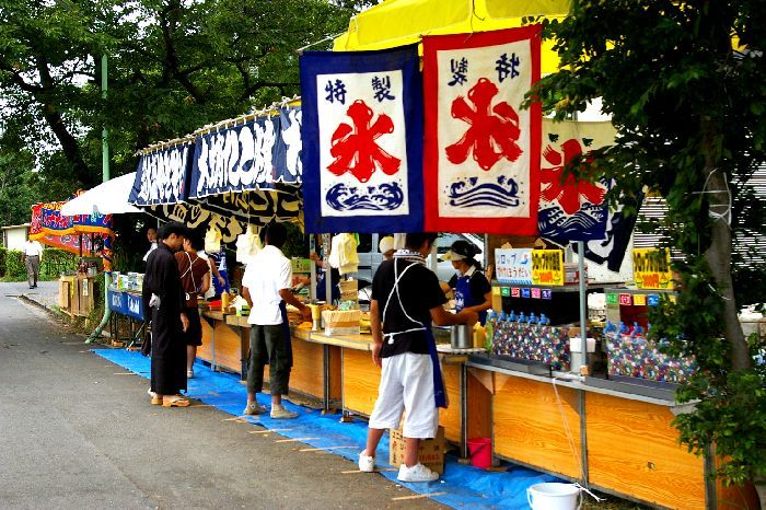 多摩川&たまがわ花火大会(世田谷&川崎)の屋台風景1