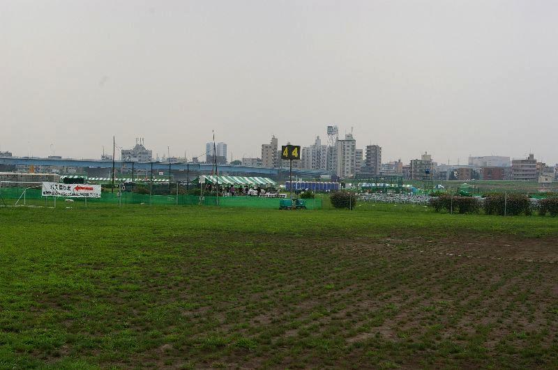定点4の多摩川&たまがわ花火大会の混雑状況@二子玉川09年